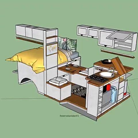 Photo of 3D Van Layout