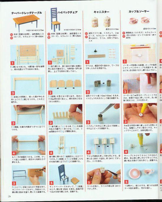 Dollhouse Miniatures Diy Tutorials: Dollhouses - Multiple Projects