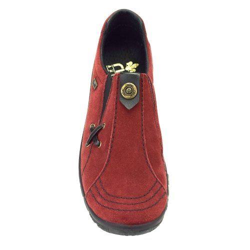 63281b691c Rieker vízálló női bőr cipő L7171-35 bordó | Kedvenc helyek | Shoes ...