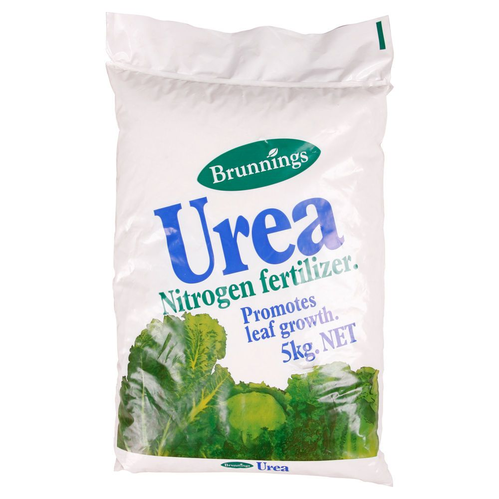 brunnings urea nitrogen fertilizer 5kg yard pinterest