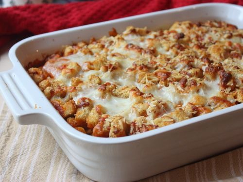 Chicken parmesan casserole from my favorite food blog there are chicken parmesan casserole from my favorite food blog there are videos to go with every recipe my style forumfinder Gallery