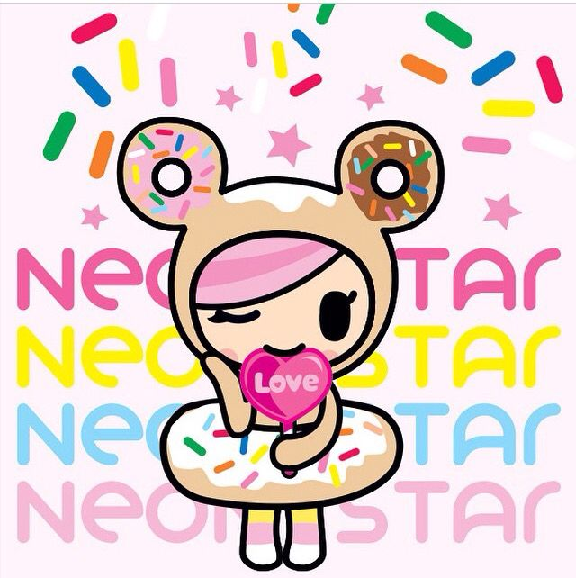 Donutella Neonstar Kawaii Wallpaper Tokidoki Characters Cute Wallpapers