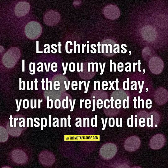 Last Christmas Didn T Go As Expected Funny Me Last Christmas Bones Funny