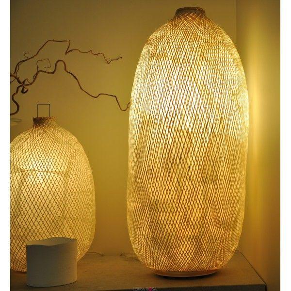 CocoonLuminaire Lampe Paola Lumière Navone Vannerie De lTFJ1cK3