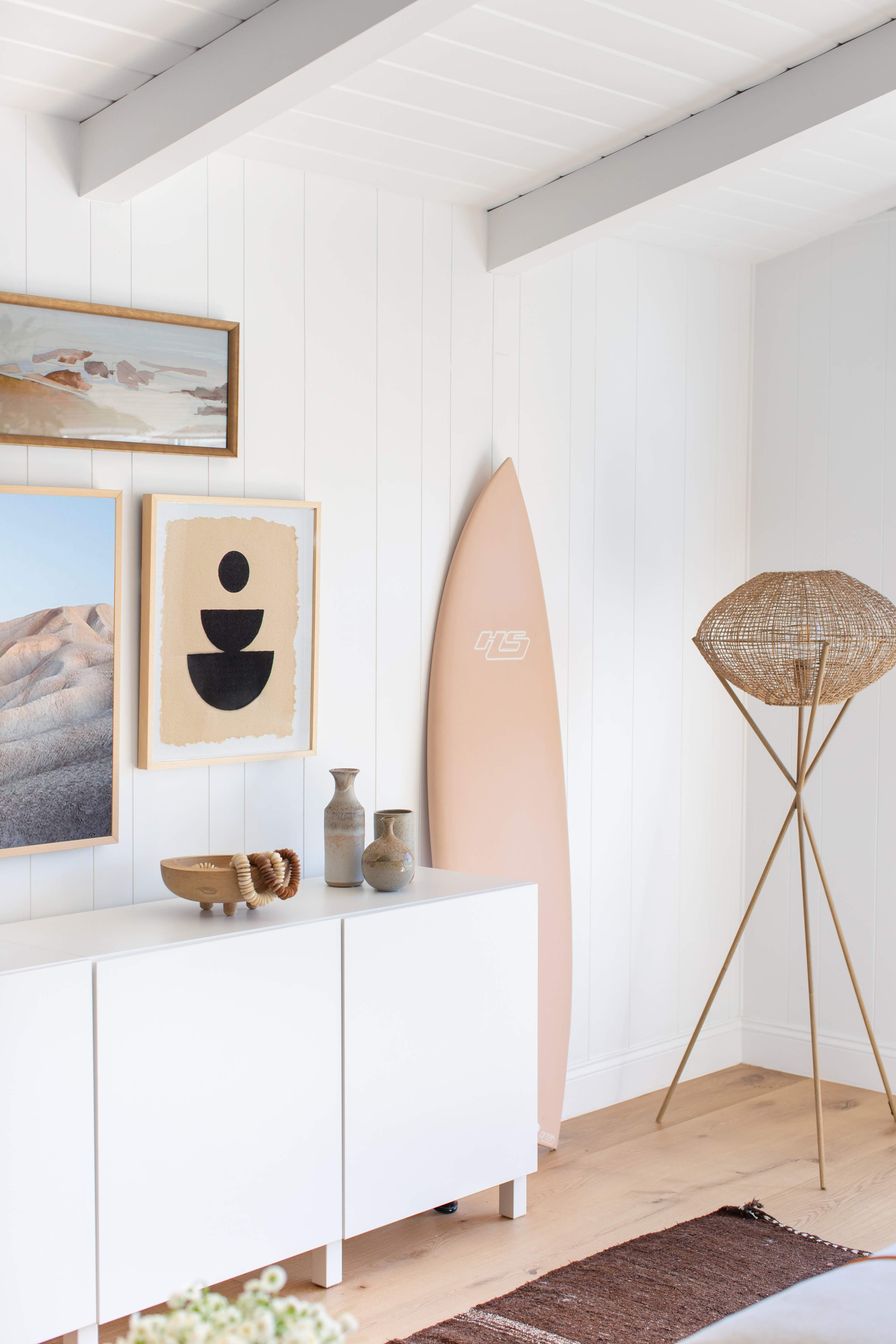 A Tech Expert's Breezy Beach House Is Decorated with Wellness in Mind #beachhouse