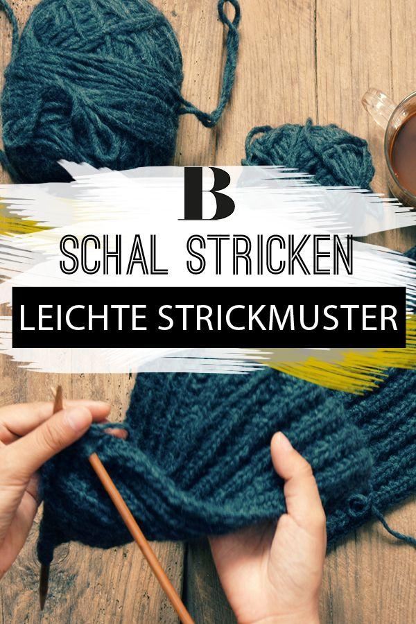 Photo of Strickschal: Wunderschöne Strickmuster, die jeder machen kann