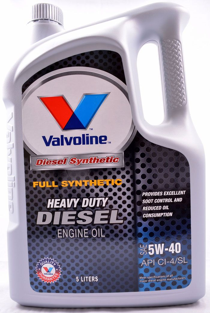 Valvoline Diesel 5w40 Full Synthetic Diesel Engine Oil Lubricant 5 L Diesel Engine Lubricant Engineering