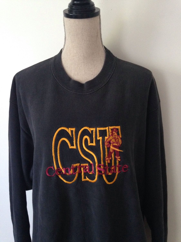 Sale 30 Off Vintage Central State University Sweatshirt Etsy Sweatshirts University Sweatshirts Sportswear [ 1500 x 1125 Pixel ]