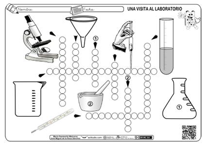 Crucigrama Con Herramientas De Laboratorio Actividades Ludicas Educativas Herramientas De Laboratorio Laboratorios De Ciencias Materiales De Laboratorio
