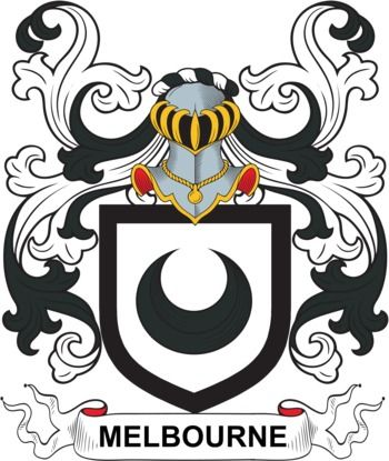 Melbourne Family Crest and Coat of Arms | coadb | Coat of