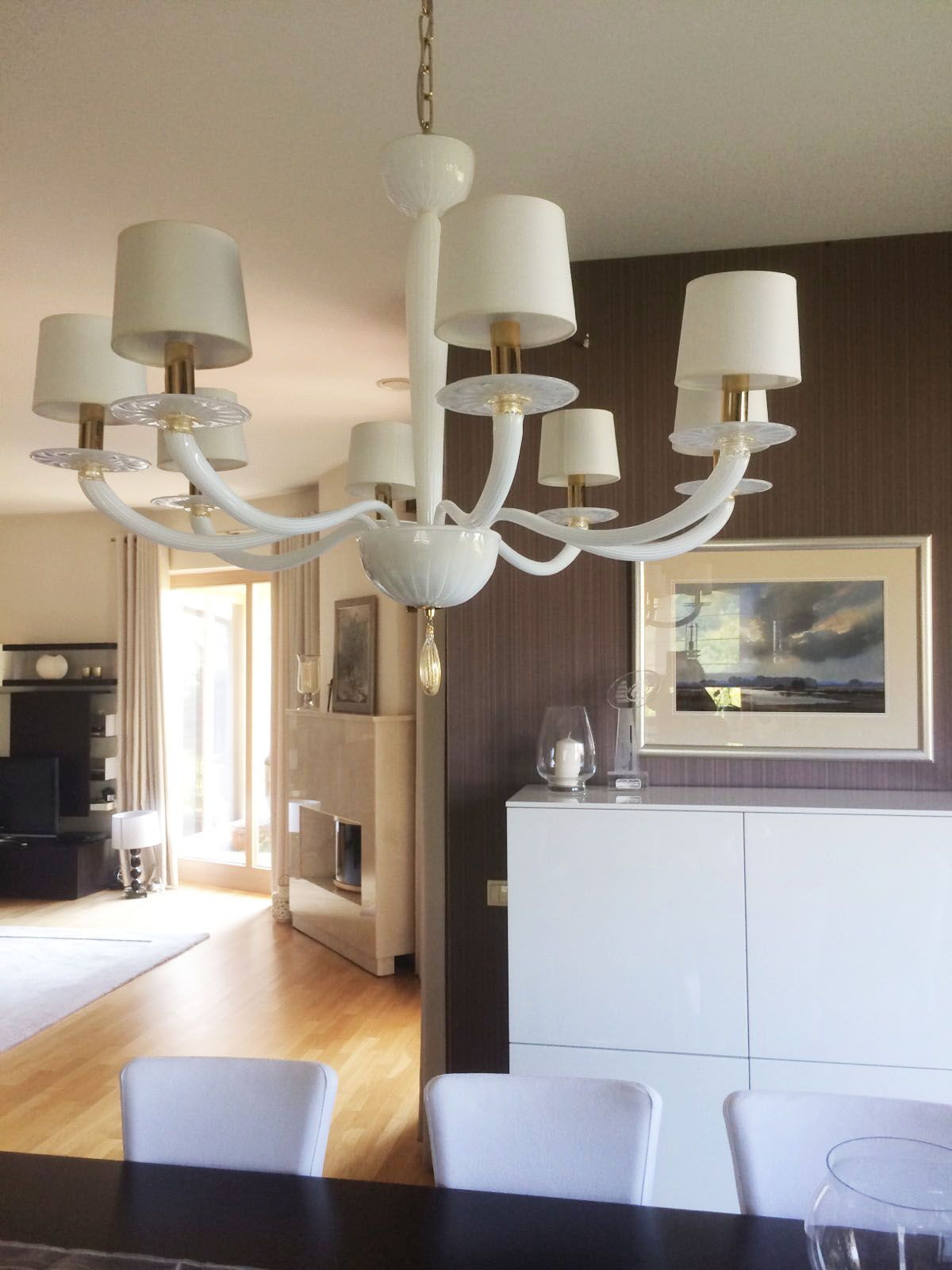 Serenade one of the most appreciated chandeliers of our lighting collections were