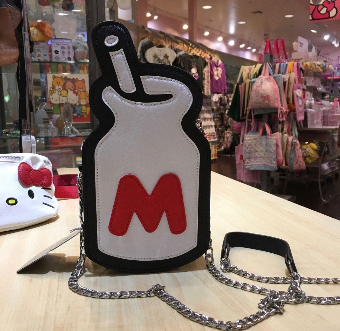 Hello Kitty X Loungefly Milk Bottle Crossbody Bag V
