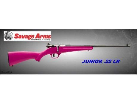Savage Arms Youth Rascal 'PINK'  22 Rifle | | Haizley