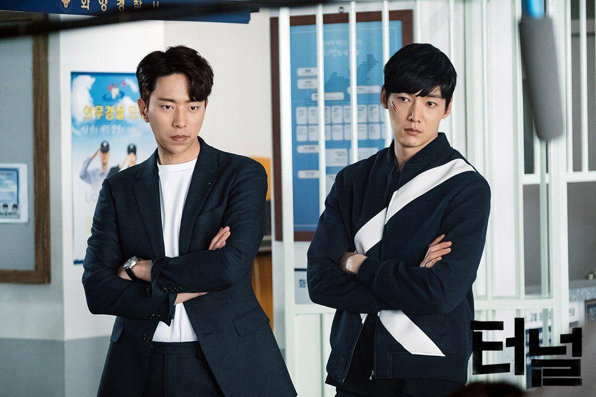 Yoon Hyun Min and Choi Jin Hyuk