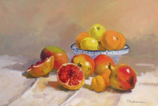 Pomegranates (Les Grenades)  by Annie Puybareau France)