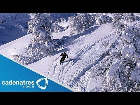 Esquiar en nieve en los Andes con Patty Eversbuch - YouTube