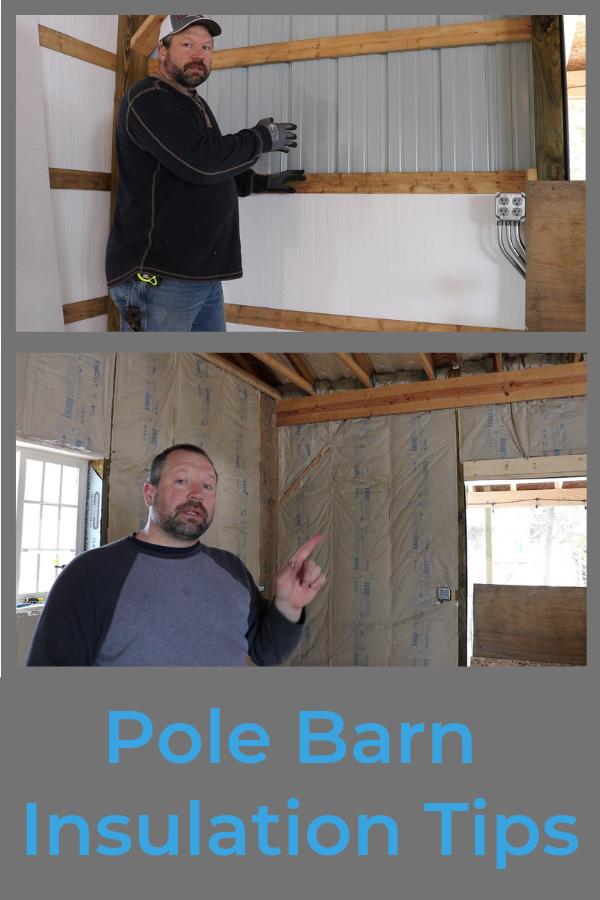 Pole Barn Insulation Pole Barn Insulation Pole Barn Fiberglass