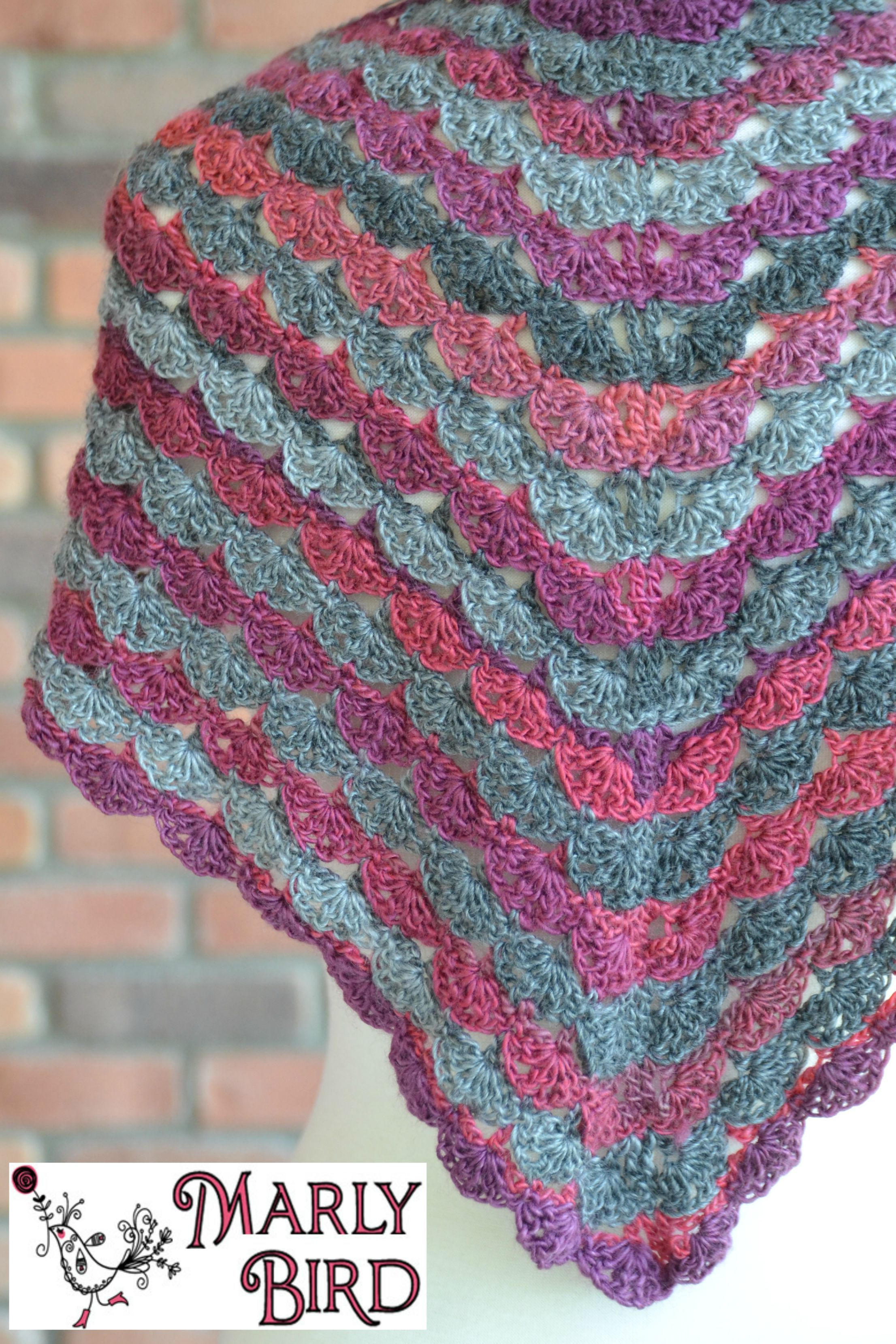 Free Crochet Shawl: No Stopping Me Now | Free crochet shawl patterns ...