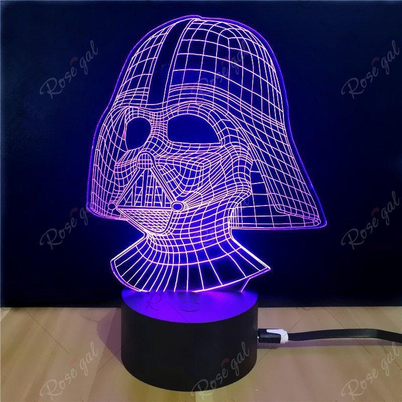 Shining Td054 Star Wars Darth Vader Shape 3d Led Lamp Ad Star Wars Shining Darth Led Affiliate 3d Led Lamp 3d Led Night Light Star Wars Darth