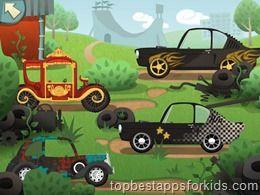 My Little Work Garage kids apps