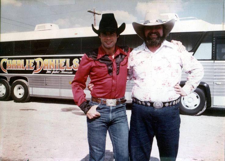 URBAN COWBOY (1980) - John Travolta & Charlie Daniels - Gilley's ...