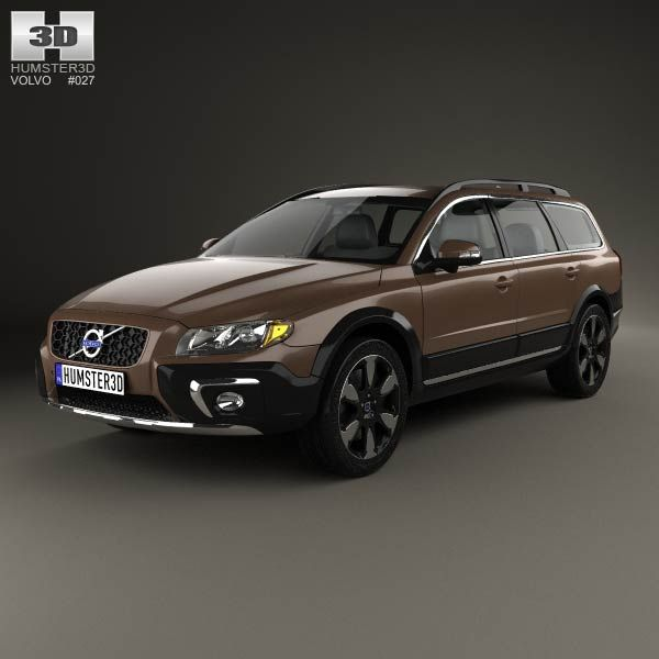 Volvo Xc70 2013: Volvo XC70 2013 3d Model From Humster3d.com. Price: $75