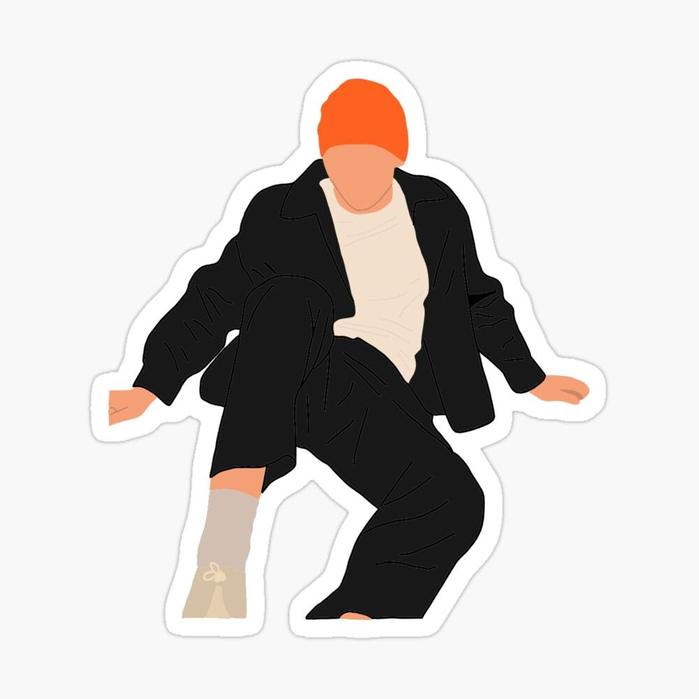 The Kid Laroi Sticker By Jasminrogerss In 2021 Print Stickers Stickers Kids [ 1000 x 1000 Pixel ]