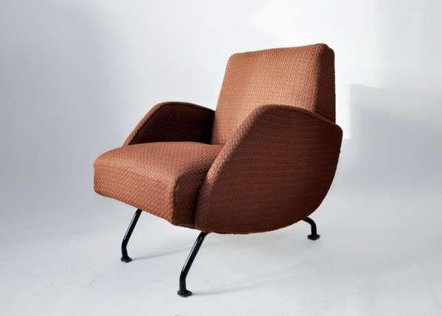 Fotel Prl Lata 60 70 Proj Różański Typ R 360 Prl Design
