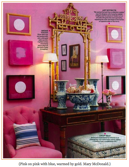 10 Color Predictions - Cabaret is 4   Mcdonalds, Chinoiserie and Cabaret