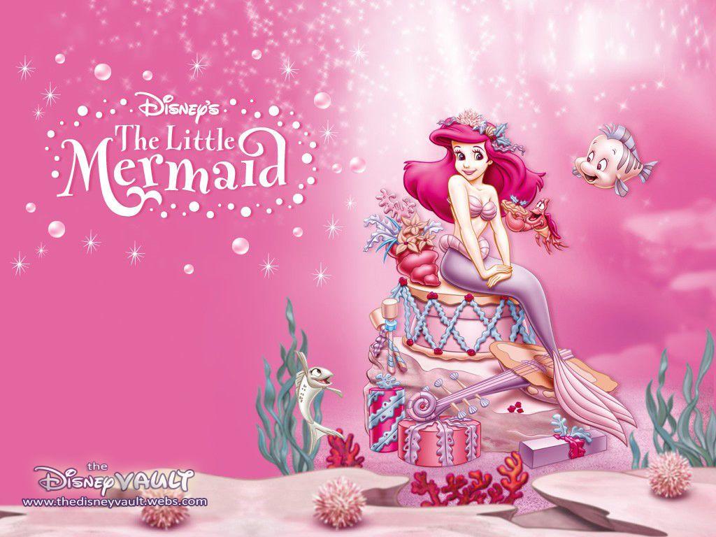 The Little Mermaid Full Hd Background For Nexus 6 Cartoons Wallpapers Little Mermaid Wallpaper Mermaid Wallpapers Ariel Wallpaper