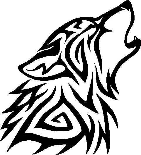 Tribal Wolf Png 15 Transparent Clip Arts And Logos For In 2020 Tribal Wolf Small Wolf Tattoo Wolf Print Tattoo