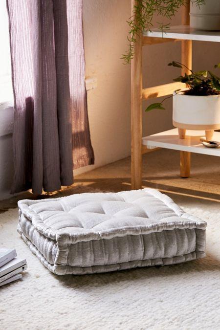 Rohini Velvet Daybed Cushion Decor Ideas Pinterest Room Floor Classy Floor Pillow Decorating Ideas
