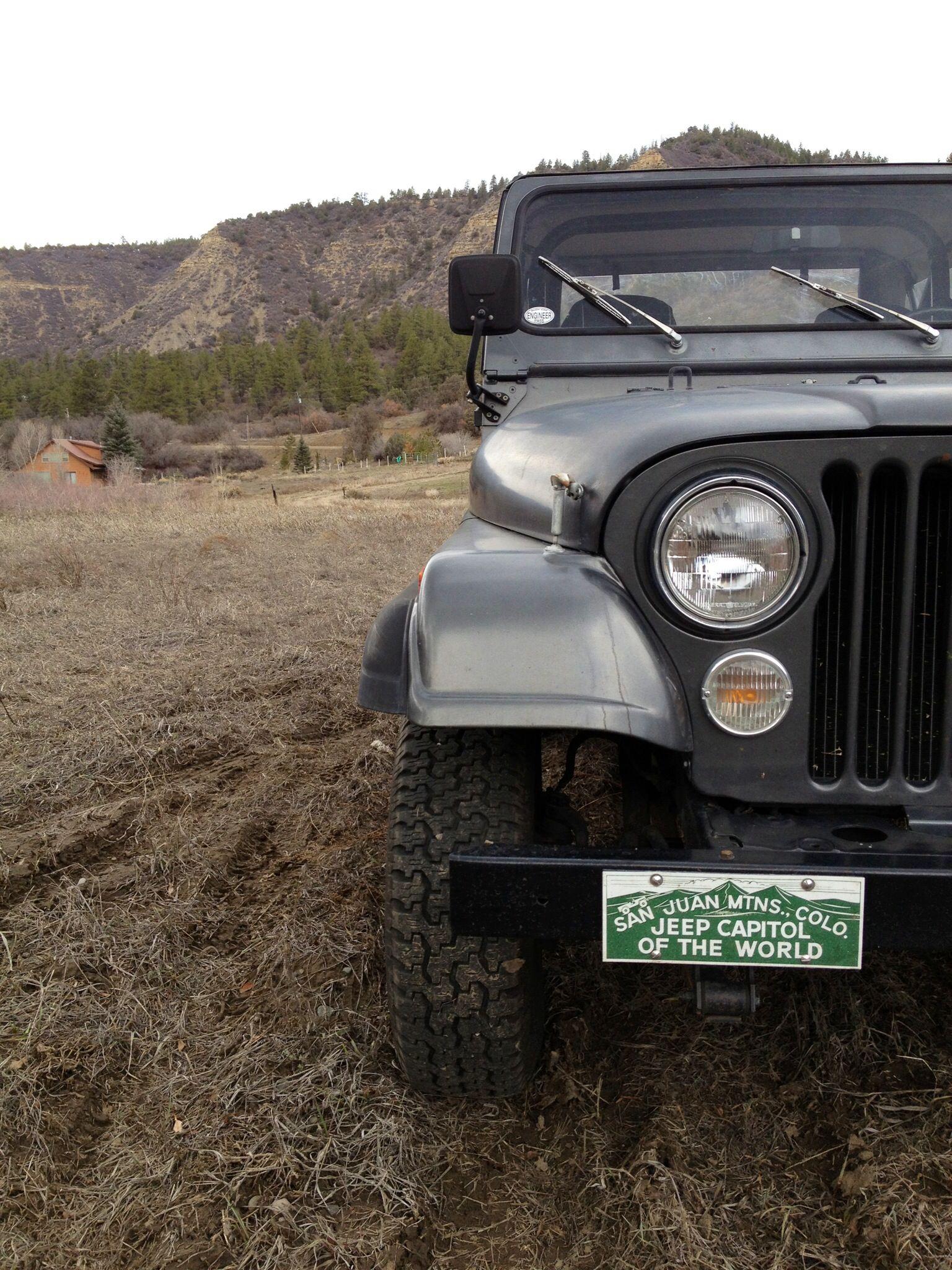 Jeep Cj 7 In Pagosa Springs Colorado Jeep Cj Jeep Antique Cars