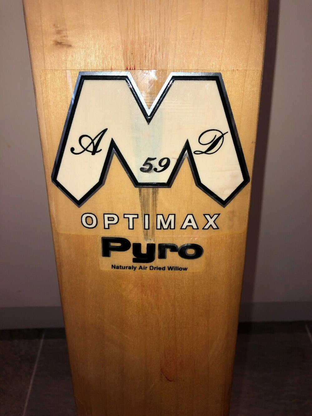 Details About Optimax Pyro Cricket Bat Grade 2 English Willow 2lbs 9oz Cricket Bat Grade 2 English Cricket