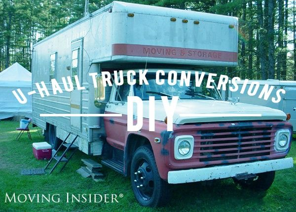 Unique U Haul Truck Conversions Moving Insider U Haul Truck Small Truck Camper Uhaul Truck