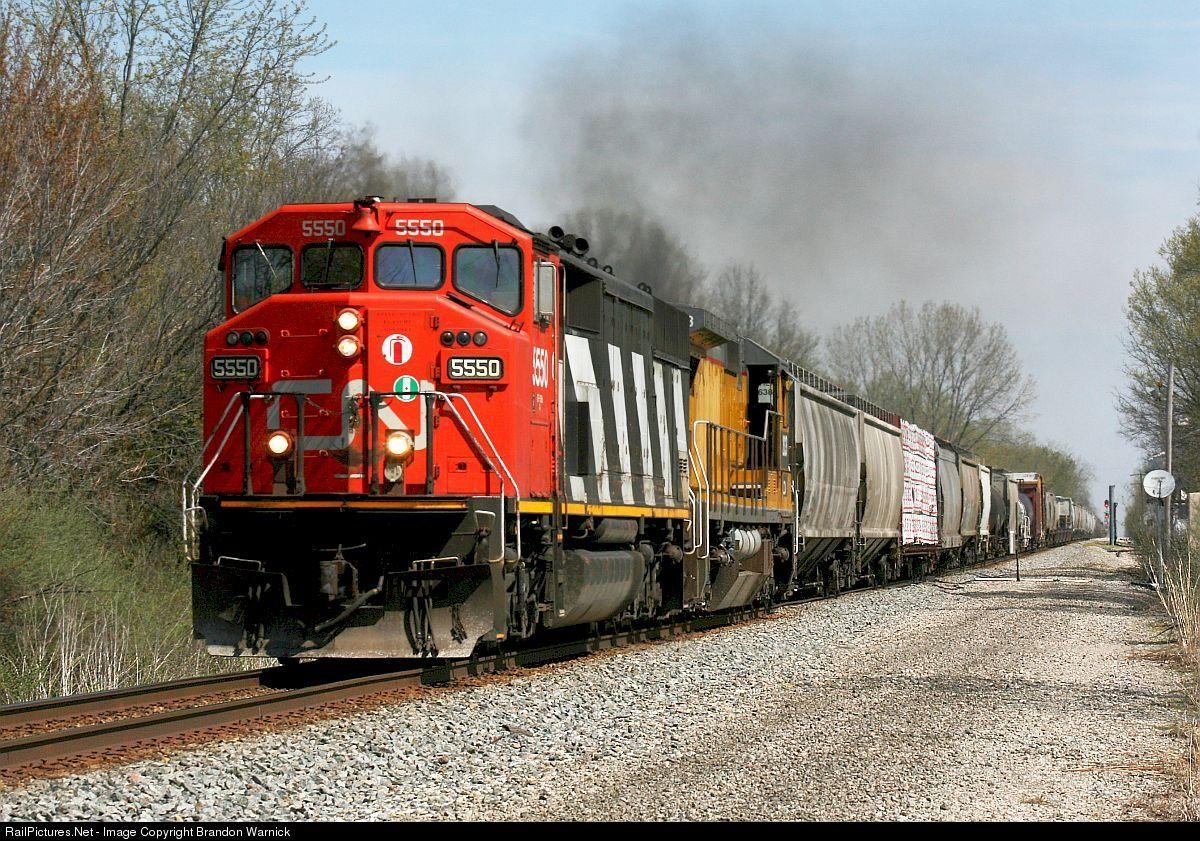 Photo CN 5550 Canadian National Railway