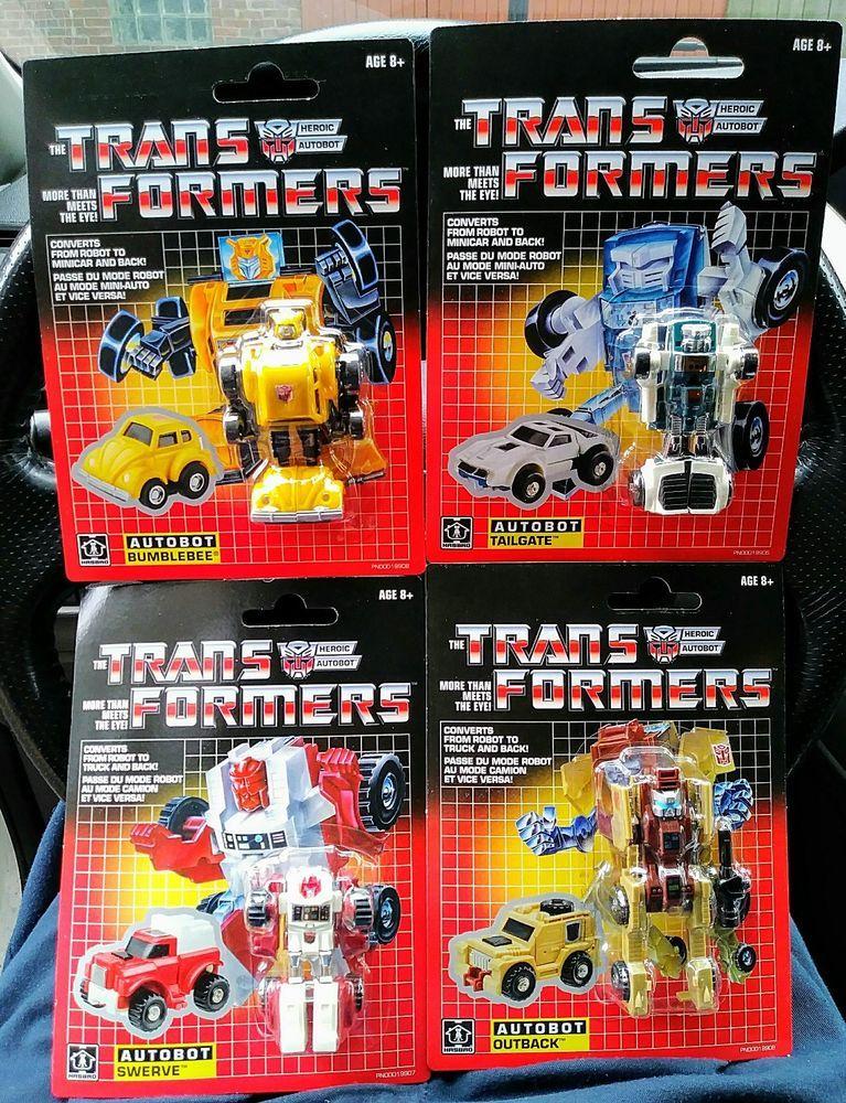 TRANSFORMERS ~ Bumblebee Mini Bumble Bee ~ Reissue ~ Autobot ~ Hasbro
