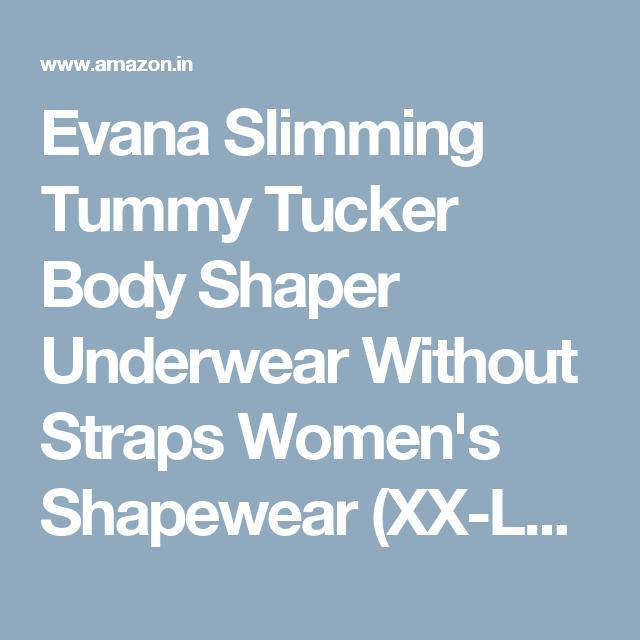 132bbd2512210 Evana Slimming Tummy Tucker Body Shaper Underwear Without Straps Women s  Shapewear (XX-Large)