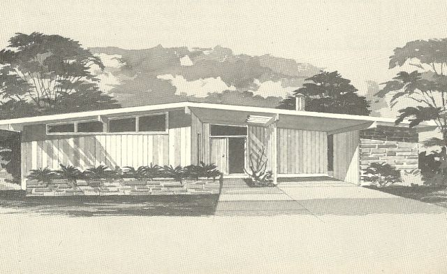 Vintage House Plans 1960s Mid Century Modern Homes Vintage House Plans Mid Century Modern House Plans Mid Century House