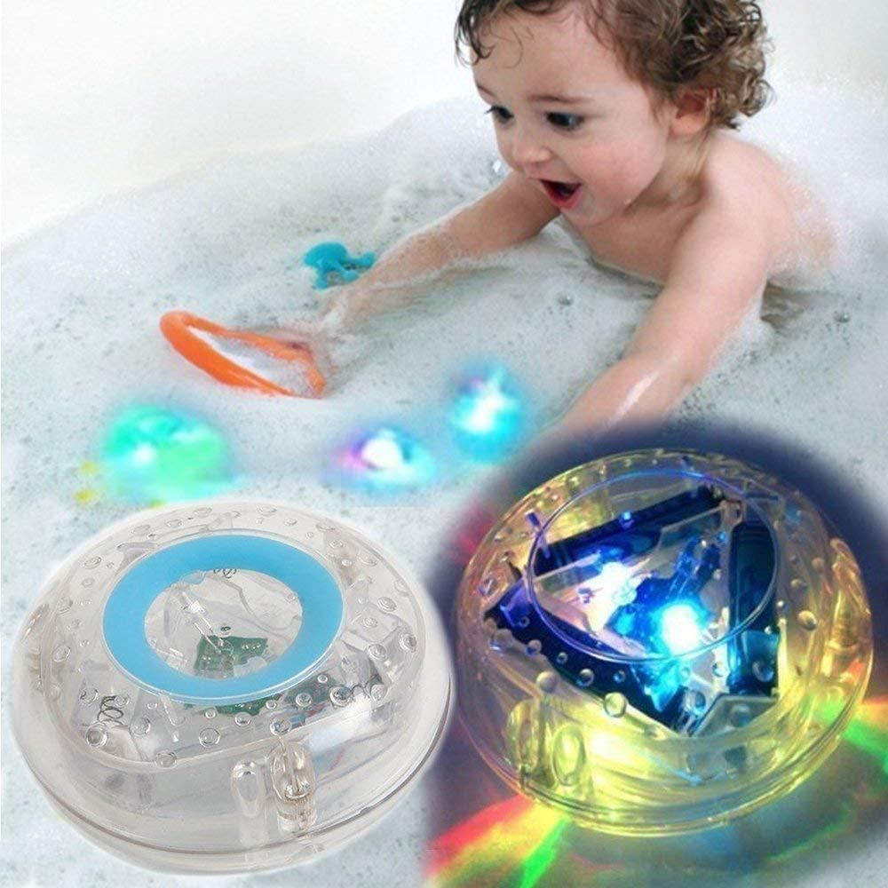 Kids Spielzeug LED Light Color Changing Toys Waterproof In Tub Baby Bath Toys