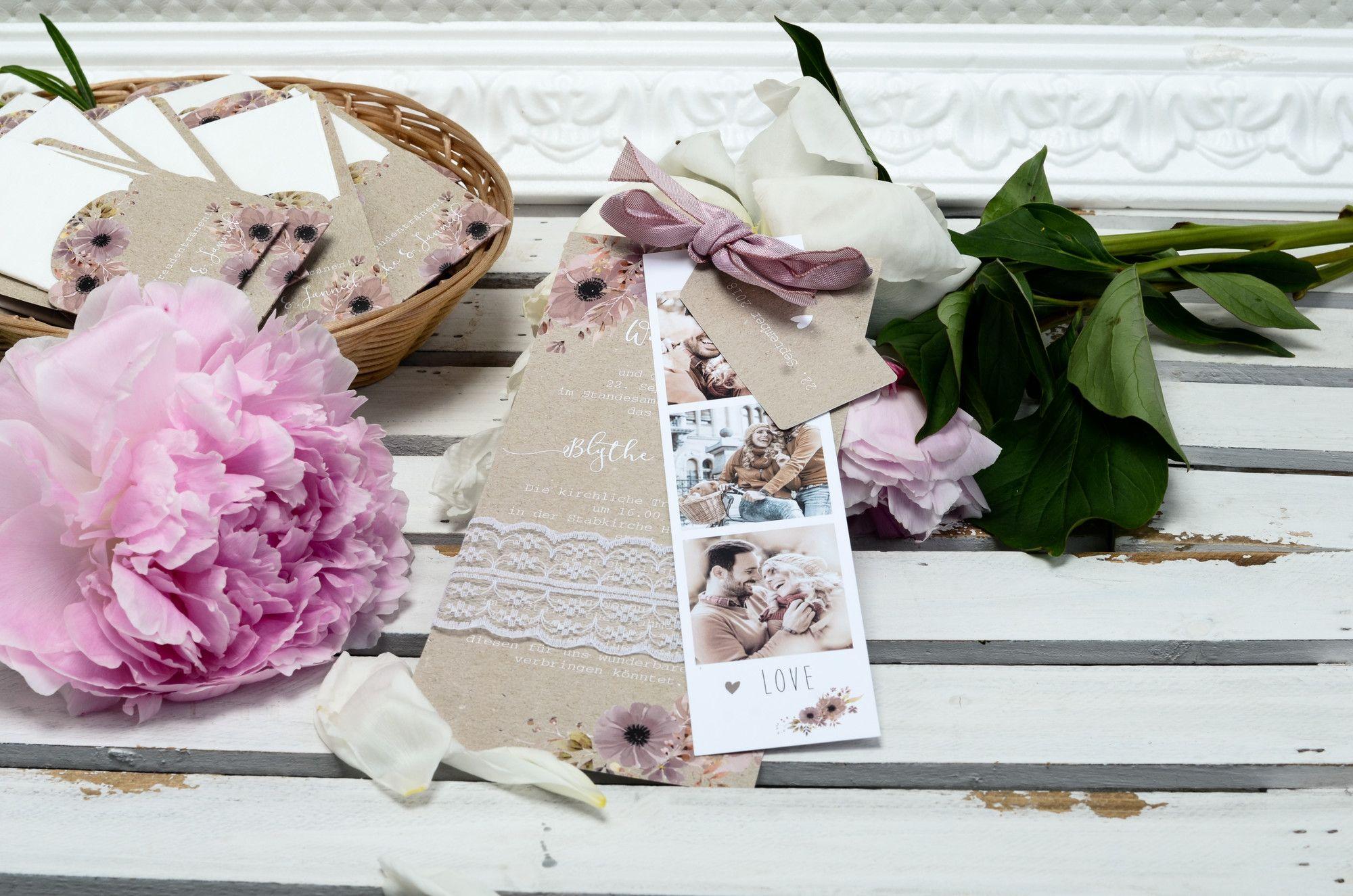Vintage einladung zur hochzeit im ausgefallenen design als for Hochzeitseinladungen vintage mit spitze