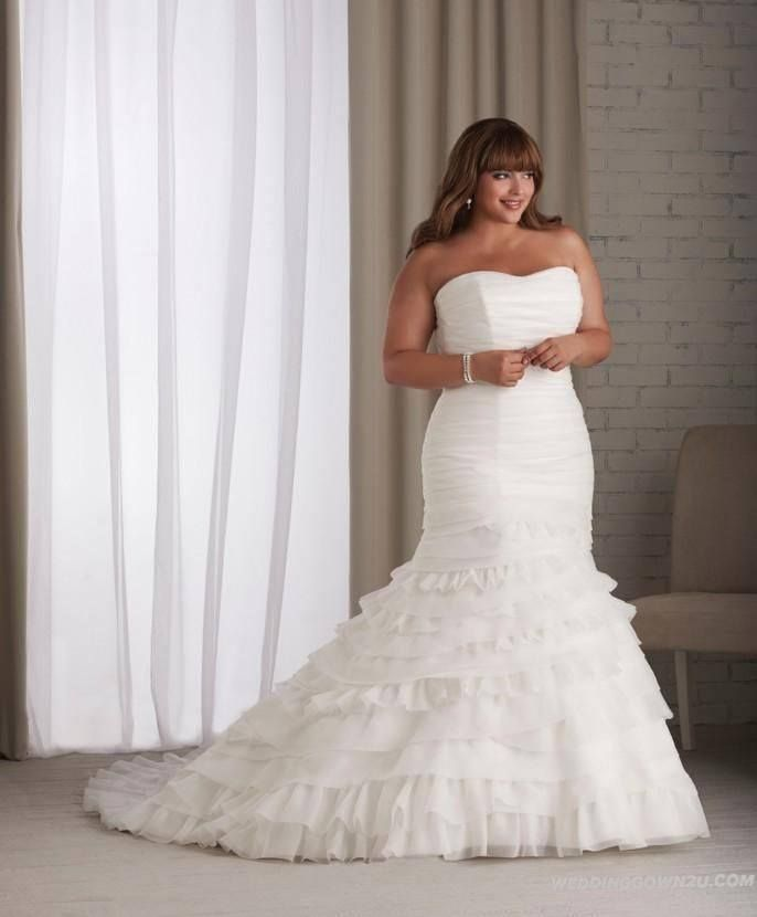 Curvaceous Couture Wedding Dresses
