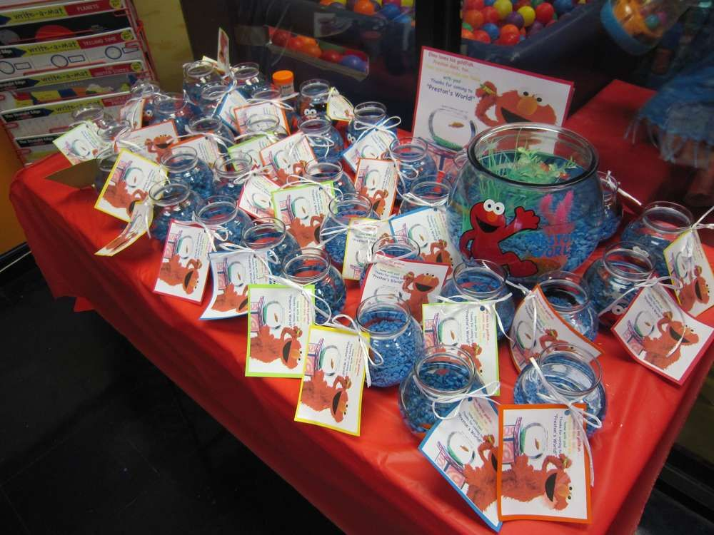 Elmo Sesame Street Birthday Party Ideas