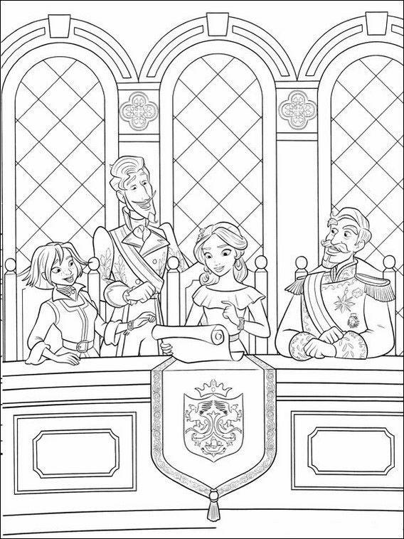 Kinder Kleurplaten Van Disney.Kleurplaten Voor Kinderen Printen Elena Van Avalor 23