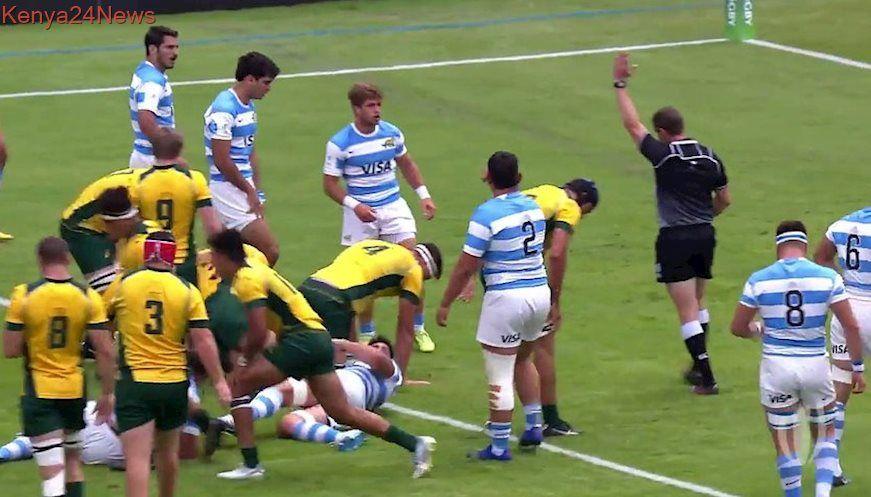 Argentina 15 41 Australia World Rugby U20 Championship Highlights World Rugby Rugby Argentina