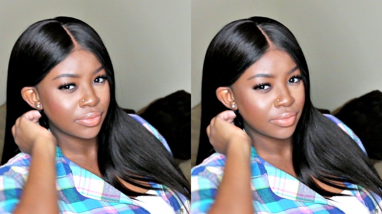 How to customize a lace frontal without bleach indian