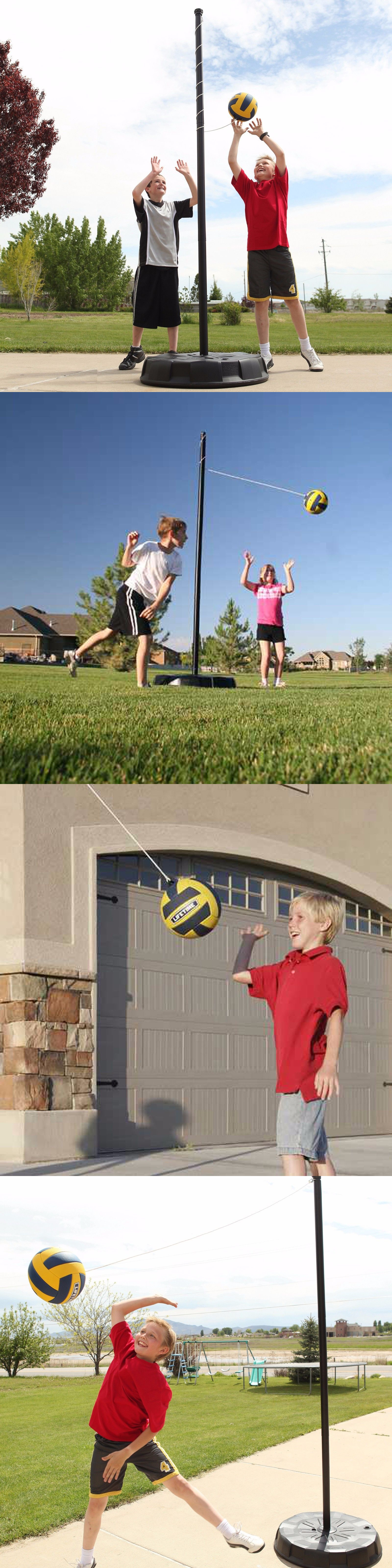 Tetherball 159080: Tetherball System Outdoor Portable Heavy Duty Base Soft Touch Ball Easy To Roll BUY IT NOW ONLY: $139.98