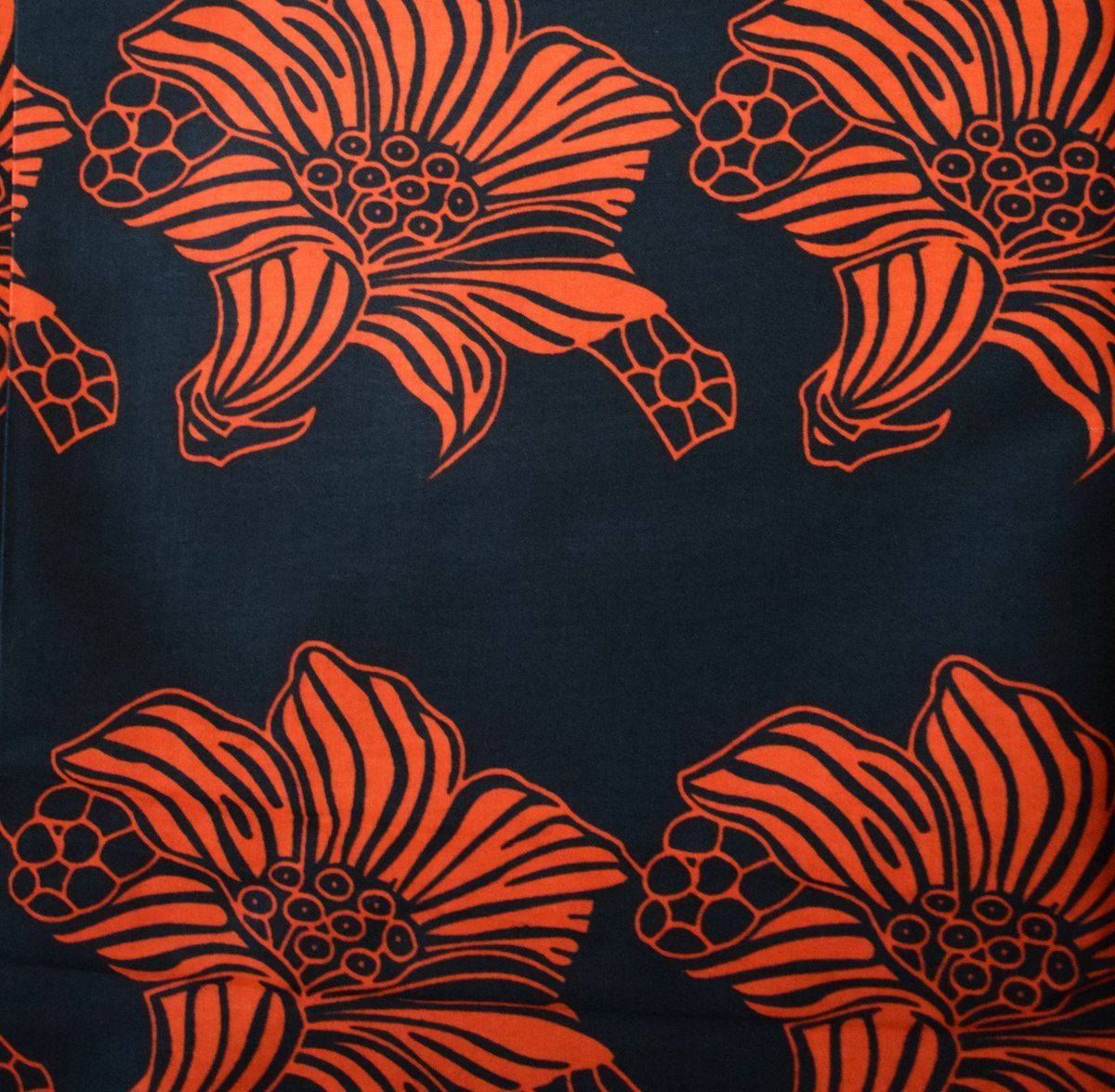 Colourful African  Print Fabric Sold Per Yard