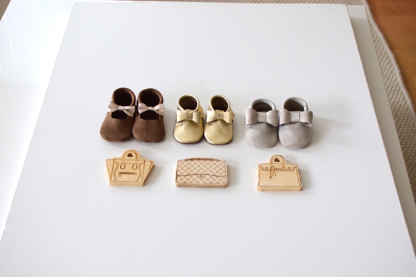 Gold, silver, suede premium leather mocassins