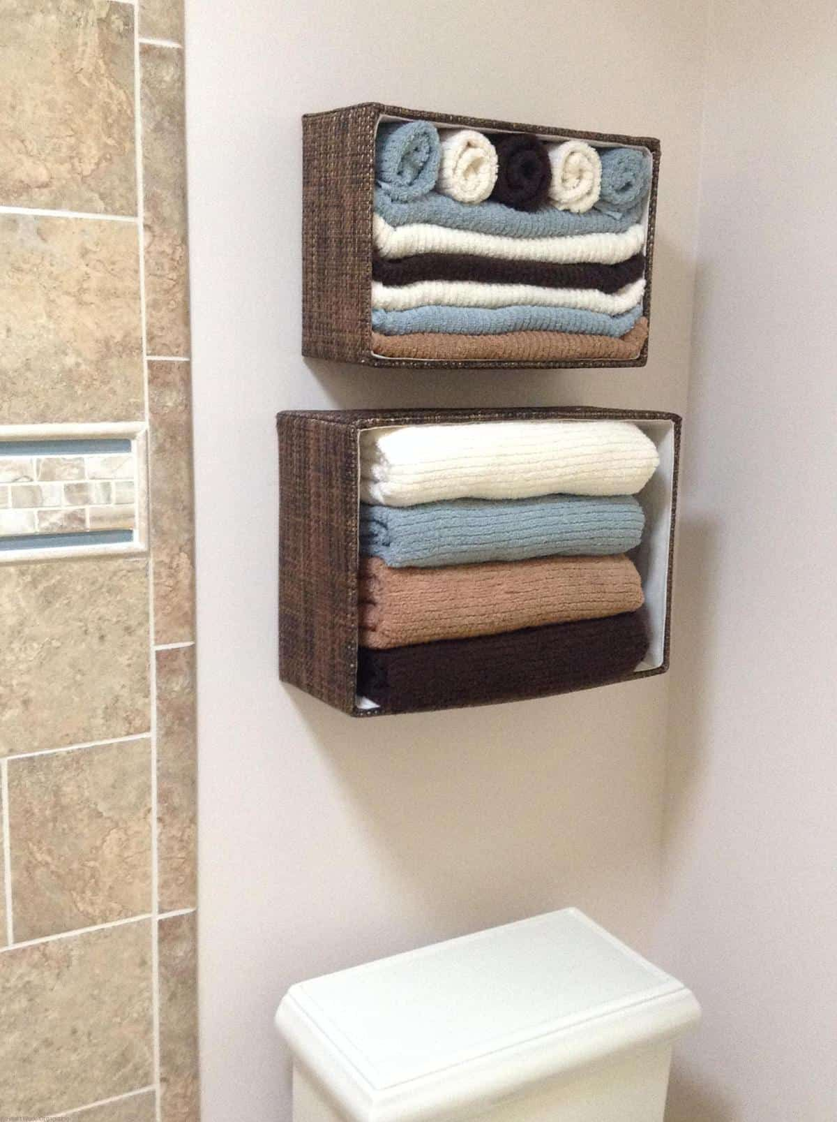 How To Get Organized Using What You Have Towel Organization